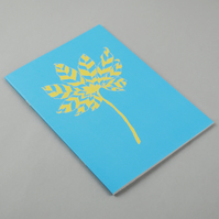 "A5 Botanical Notebook ""Aralia"""