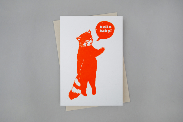 New Baby Card 'Hello Baby'