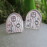 Faerie door earrings