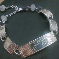 The Leaping Hare Bracelet with Moonstone
