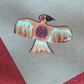Handmade Brooch - Aztec Magic Bird