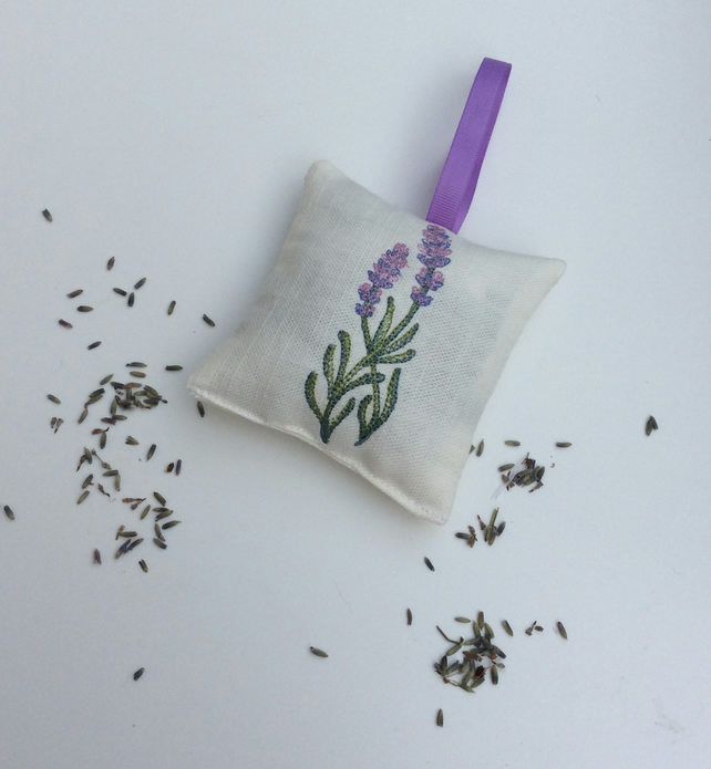 Embroidered Lavender Bag,Sachet
