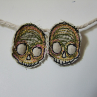 Fun Skull Earrings Mini