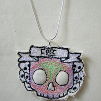 Fun Skull Free Necklace