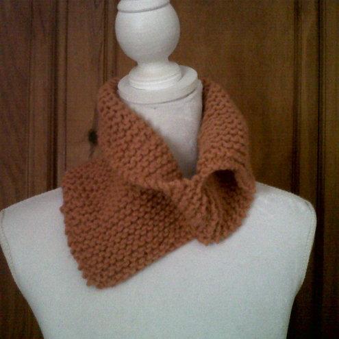 Hand Knitted Neck Warmer - Folksy