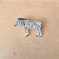 Zebra badge