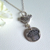 Silver Necklace - Muffin Design - Artisan Silver Jewellery