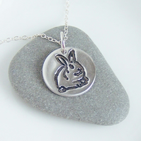 Silver Necklaces - Rabbit - Artisan Silver Jewellery