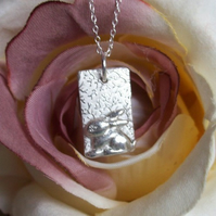 Bunny Silver Necklace - Artisan Silver Jewellery
