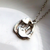 Silver Necklace - Birdcage by Artisan Silver Jewellery and Keepsakes
