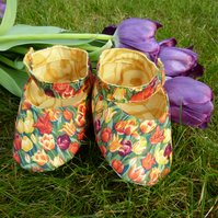 Tulip - Mary Jane style baby shoes