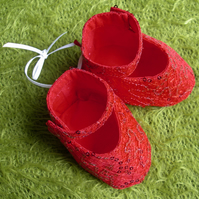 'Dorothy' - Mary Jane style baby shoe