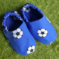 Babys first Football Boots - team blue