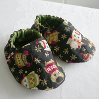 Christmas Owl Shoes