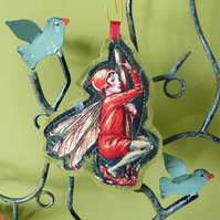 Flower Fairies - The Lords and Ladies Fairy - Christmas decoration