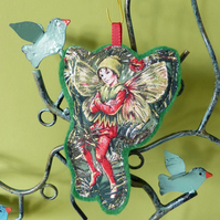 Flower Fairies - The Yew Fairy - Christmas decoration