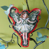 The Flower Fairies - Christmas Tree Fairy decoration