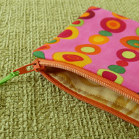Colourful Spot Purse