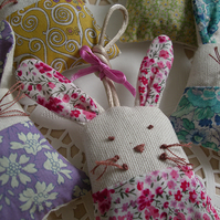 Liberty Rabbit Hanging Lavender Bag