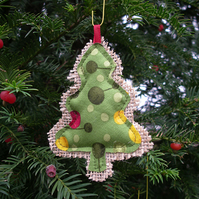 Funky spot Christmas Tree Decoration