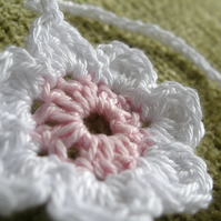 Crocheted Nursery Flower Bunting