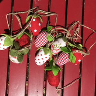 Strawberry bunting