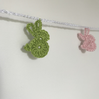 Decorative Rabbit nursery bunting