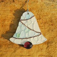 Christmas bell mosaic