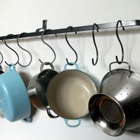 Long pot rack