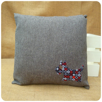 Grey Scottie Dog Cushion (SKU00687)