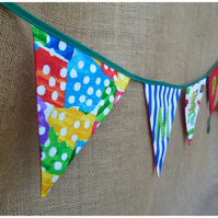 Personalised Caterpillar Bunting (SKU00222)