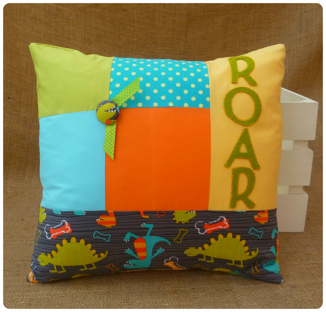 Dinosaur Roar Cushion (SKU00032) ON SALE