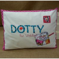 Dotty For Vintage Cushion (SKU00068)