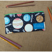 Personalised Planets Pencil Case (SKU00614)