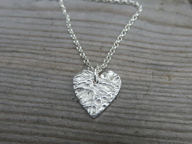 Opuntia Heart Necklace small