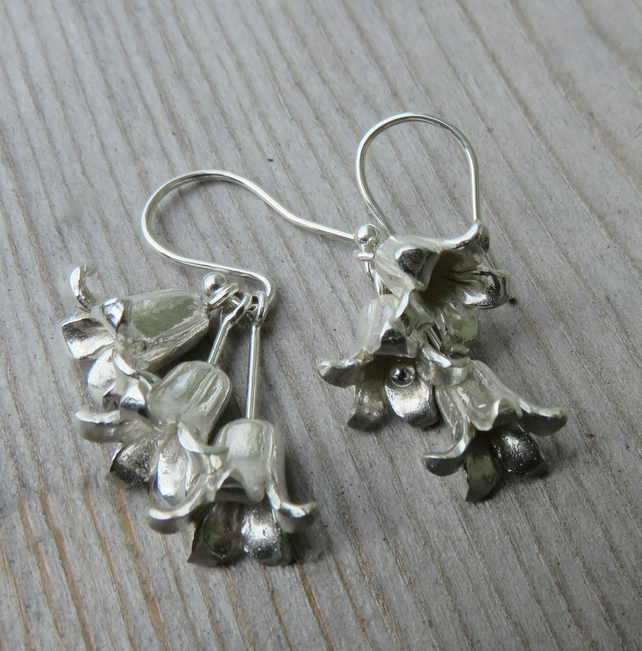 Bluebell Cluster Earrings