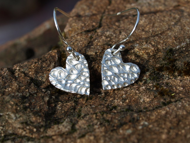 Opuntia Heart Earrings