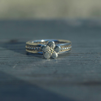 Silver Forget-Me-Not Ring