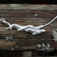Otter Family Necklet