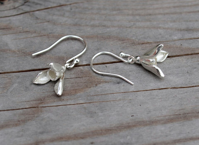 59ac70491 Snowdrop Earrings Small - Folksy