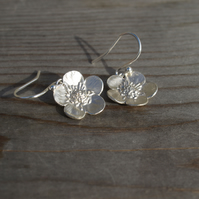 Buttercup Earrings Silver