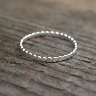 Pebble Stack Ring 1.5mm