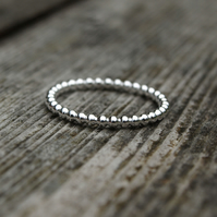 Beaded Ring 2mm