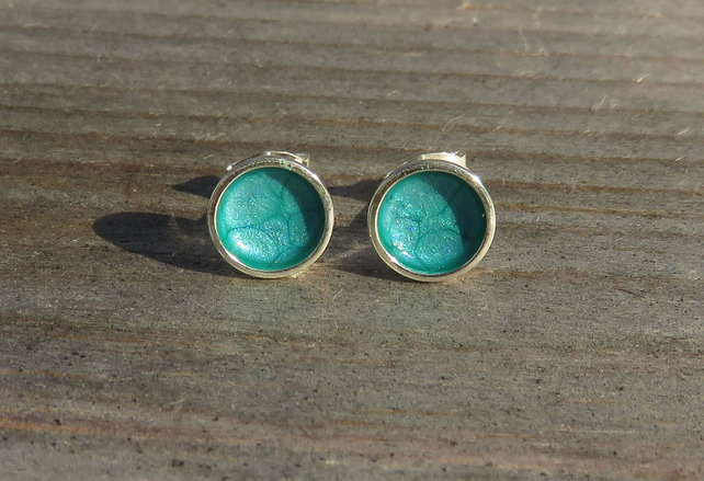 Turquoise Studs small