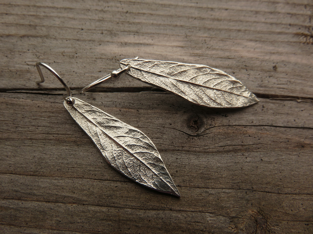 'Grey Willow' Earrings