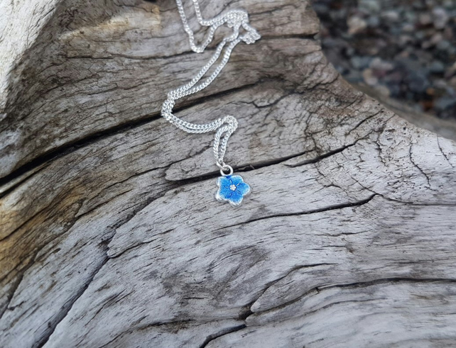 Forget-Me-Not Necklace