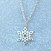Snowflake Necklace.
