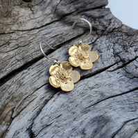 Golden Buttercup Earrings