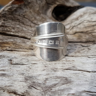 Spoon Ring size P Q