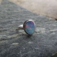 Opal Ring size M to N